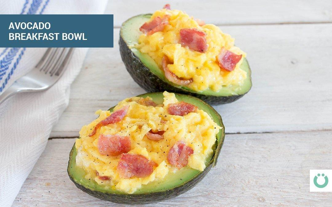 Avocado Egg Bowls, Plus How To Build A Low Carb Breakfast
