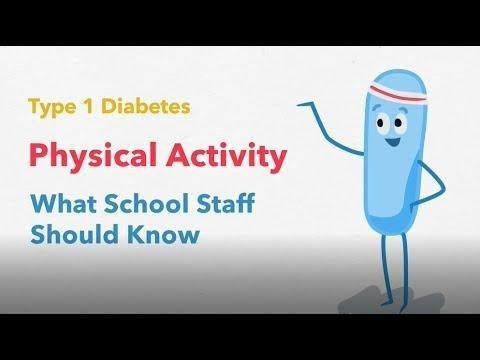 Physical Activity And Type 1 Diabetes: What School Staff Should Know