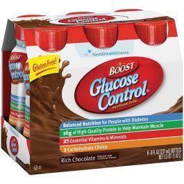 Boost Glucose Control Vs Glucerna
