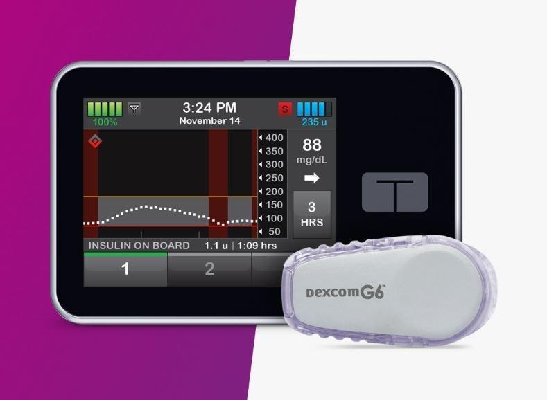 Glu : Tandem Releases Predictive Insulin Pump The T:slim X2