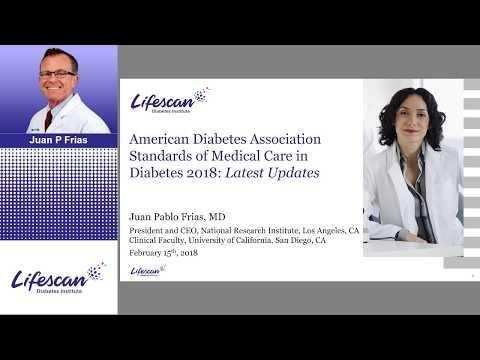 Ada Releases 2018 Standards Of Care For Diabetes