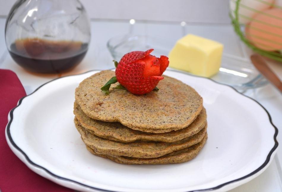 Flax Pancakes | Low Carb & Diabetic Friendly