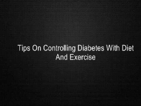 Managing Diabetes With Diet And Exercise