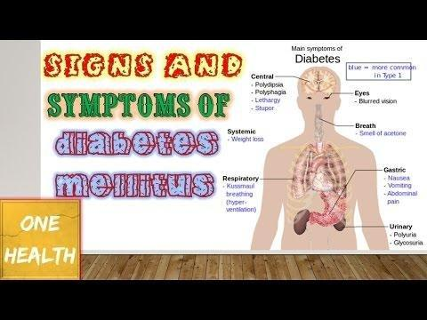 Signs And Symptoms Of Diabetes Mellitus Pdf