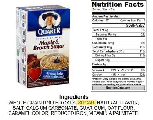 Quaker Oats And Diabetes