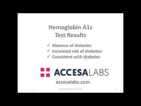What Is A1c? - Topic Overview
