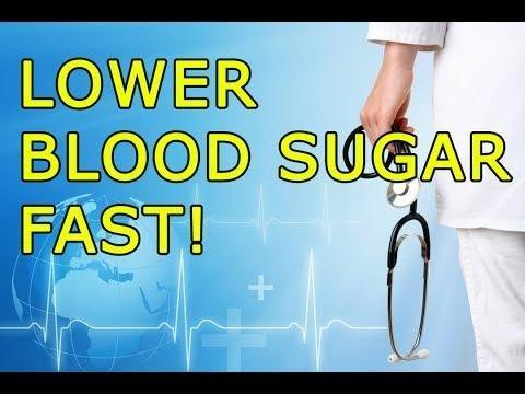 How Can I Lower My Blood Sugar Quickly?