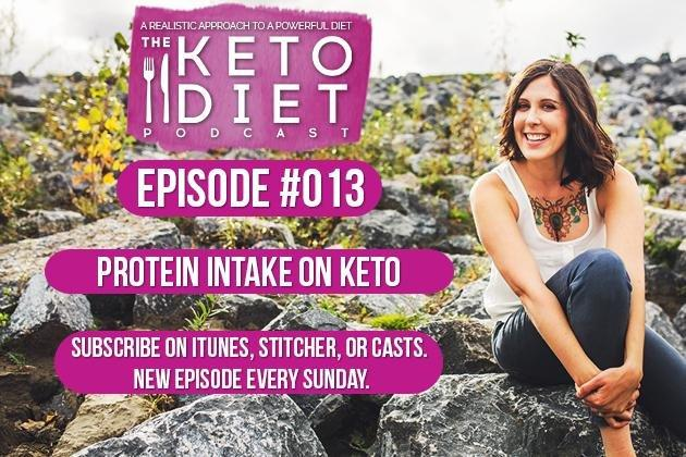 The Keto Diet Podcast Ep. #013: Protein Intake On Keto