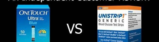 Unistrip1 Vs. Onetouch Ultra Blue: Does A Generic Strip Hold Up?