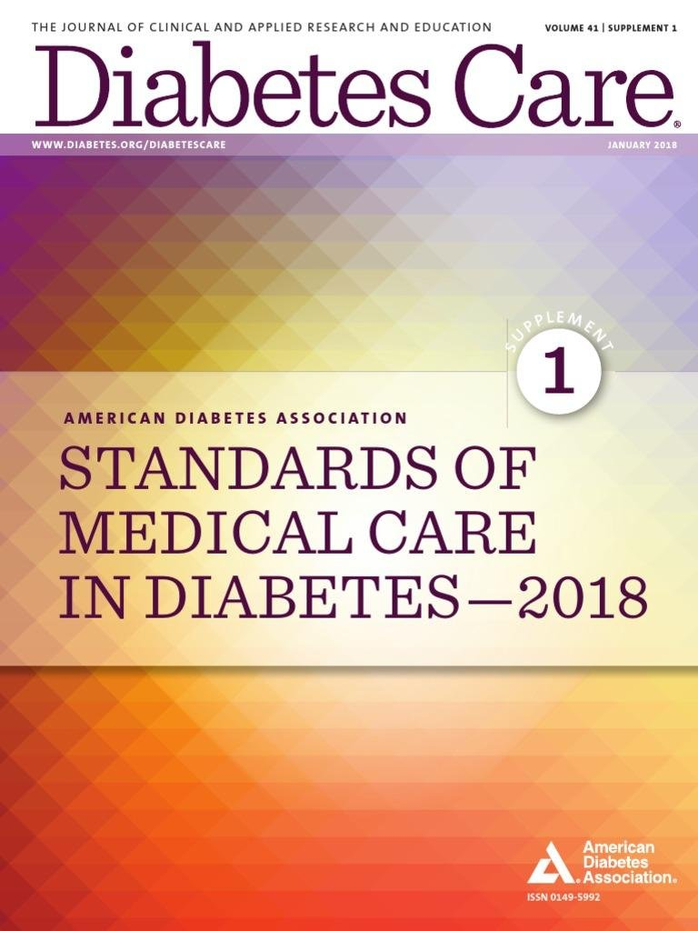 2018 Ada Standards Of Care