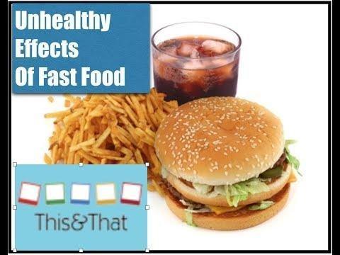 Fast Food Is Unhealthy Food Essay