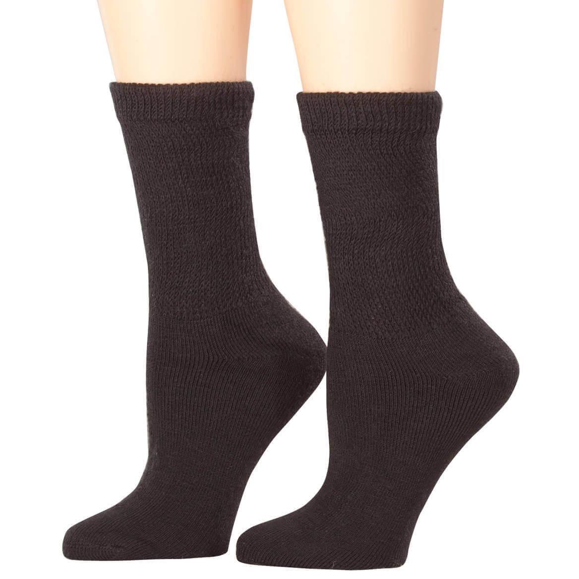 Healthy Steps Extra Plush Socks - Diabetic Socks - Walter Drake
