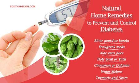 Home Remedies to Prevent and Control Diabetes Naturally