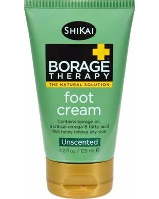Great Deal On Shikai Borage Therapy Foot Cream Unscented - 4.2 Fl Oz