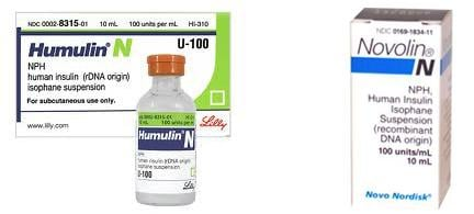 Humulin Versus Novolin Nph Insulin: Are They Bioequivalent?