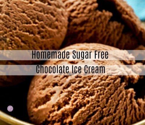 Homemade Diabetic Ice Cream Without Ice Cream Maker