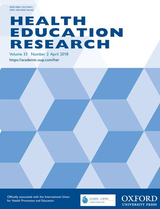 Development And Evaluation Of Written Medicines Information For Type 2 Diabetes   Health Education Research   Oxford Academic