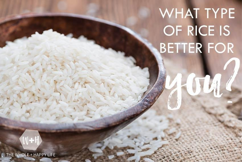 Which Kind Of Rice Is Best? Hint: It's Not Brown.