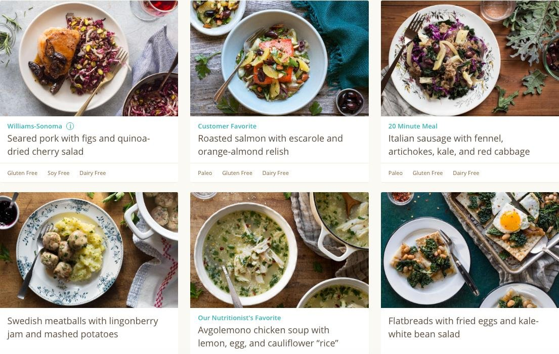 We Tried Meal Kits That Are Supposedly Healthier Than Blue Apron—here's How They Rank