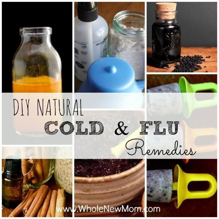Diy Natural Cold And Flu Remedies