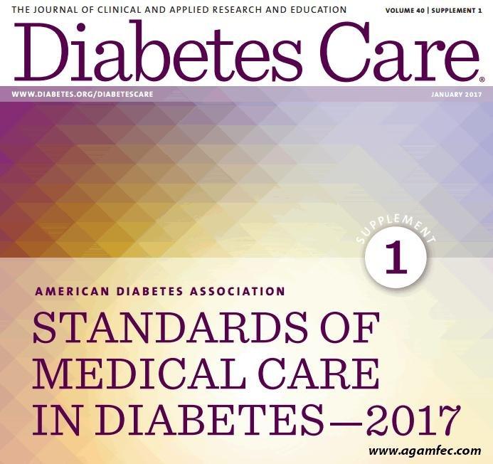 Normas De Atencin Mdica En Diabetes De La Ada 2017