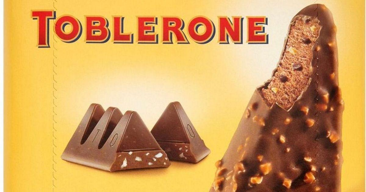 Tesco And Asda Are Selling Toblerone Ice Cream Lollies And Shoppers Love Them