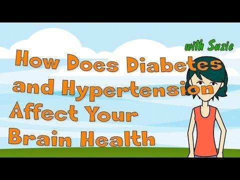 How Does Diabetes Affect The Brain?