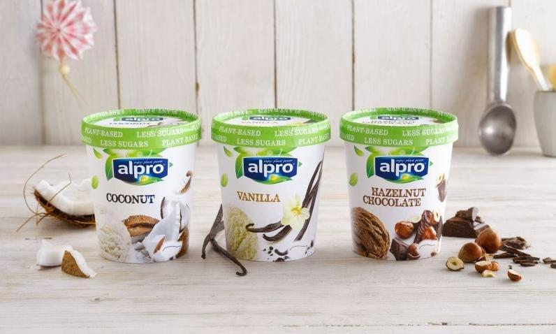 Alpro Launch New Range Of Dairy-free Ice-creams In Tesco