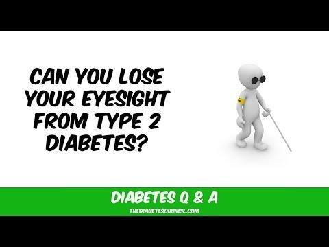 Is Blindness Caused By Diabetes Reversible?