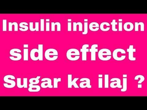 What Are The Side Effects Of Insulin Injection?