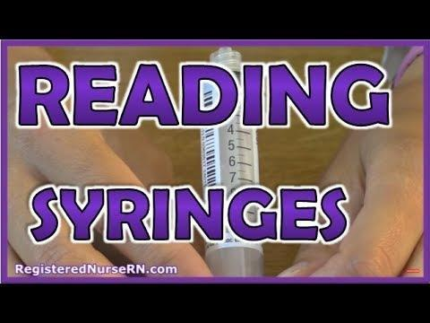 Insulin And Syringe Facts