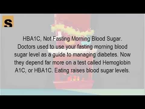 Hba1c Test Fasting
