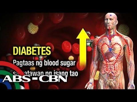 Taong May Diabetes