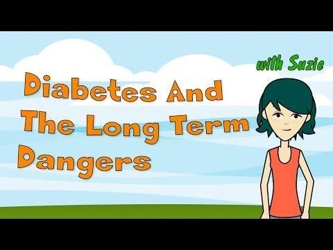 What Are Three Long Term Complications Of Diabetes?