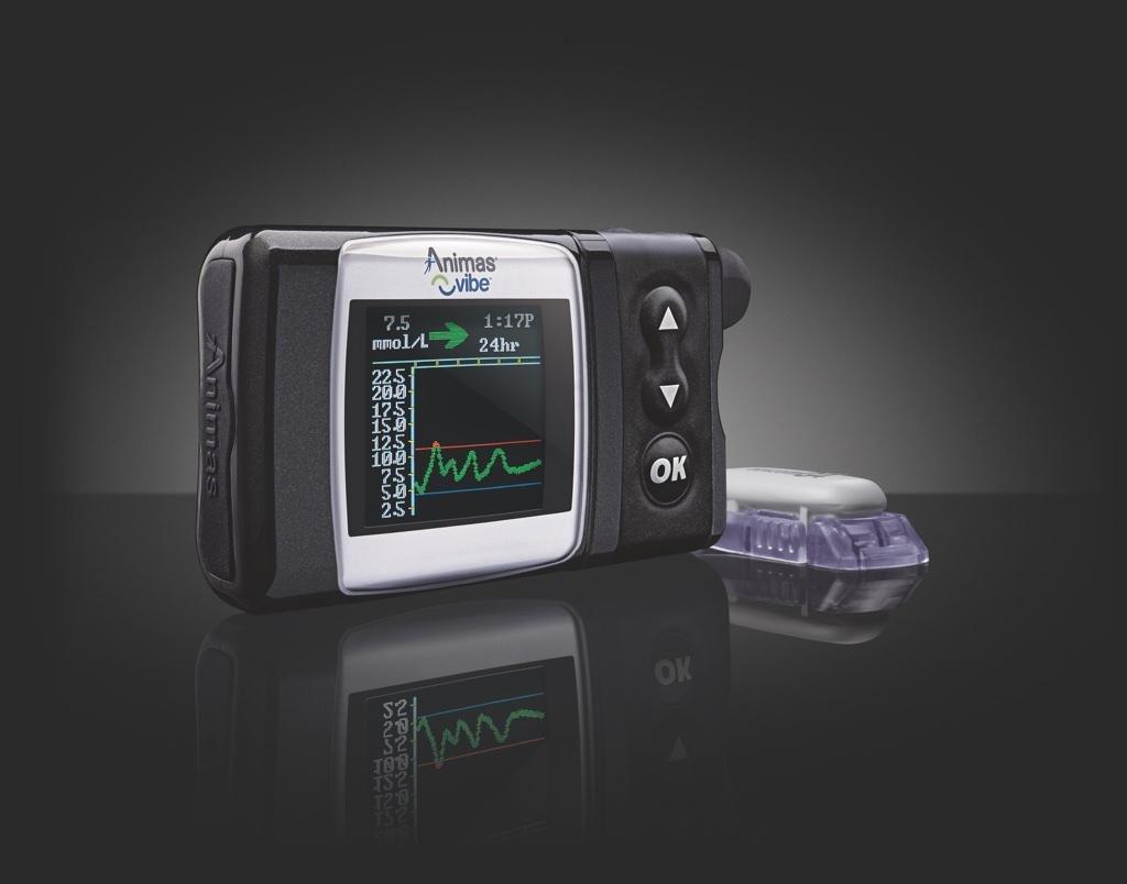 Animas® Vibe® Insulin Pump & Dexcom G4® Platinum Cgm System.