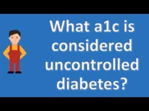 Controlled Diabetes And Uncontrolled Diabetes