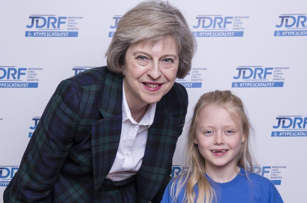 Could Theresa May become the first ever world leader with type 1 diabetes?