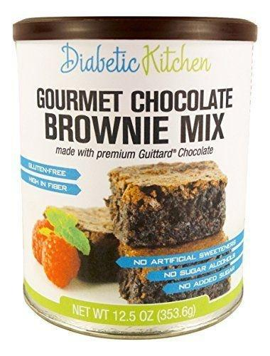 Diabetic Kitchen Gourmet Chocolate Brownie Mix Makes The ... $12.95 | Thm & Info & Products | Pinterest | Gourmet, Brownies And Glutenfree