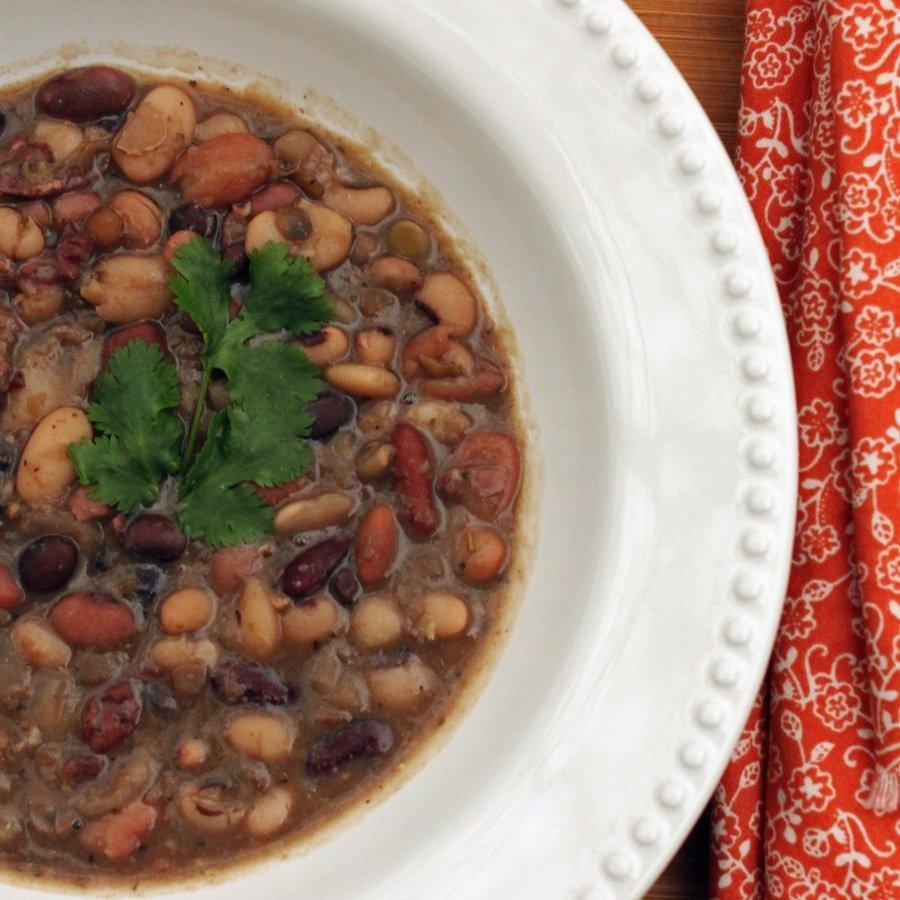 Easy Mixed Bean Soup