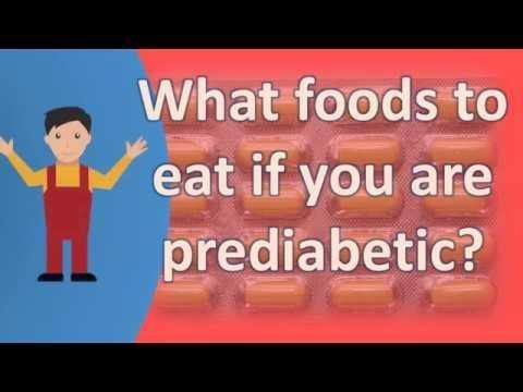 What Foods Are Good For Pre Diabetics?