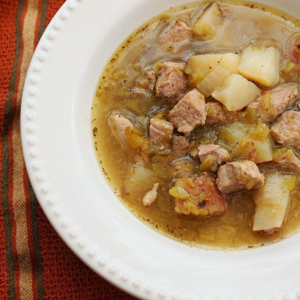 Green Chili Pork Stew {slow Cooker} - Type2diabetes.com