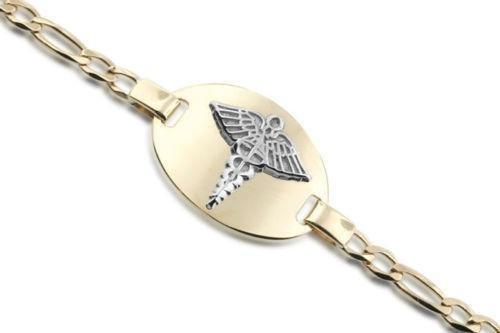 Gold Medical Alert Bracelet