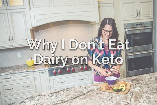 Video: Why I Don't Eat Dairy On Keto