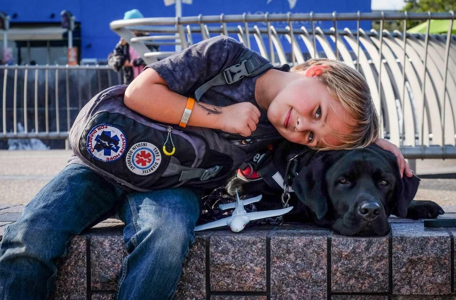 While his parents slept, this 7-year-old boy's life was saved by Jedi, his diabetes-sniffing dog