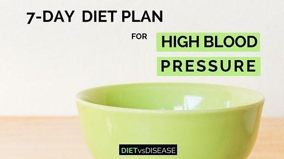 Diabetes And High Blood Pressure Diet Plan