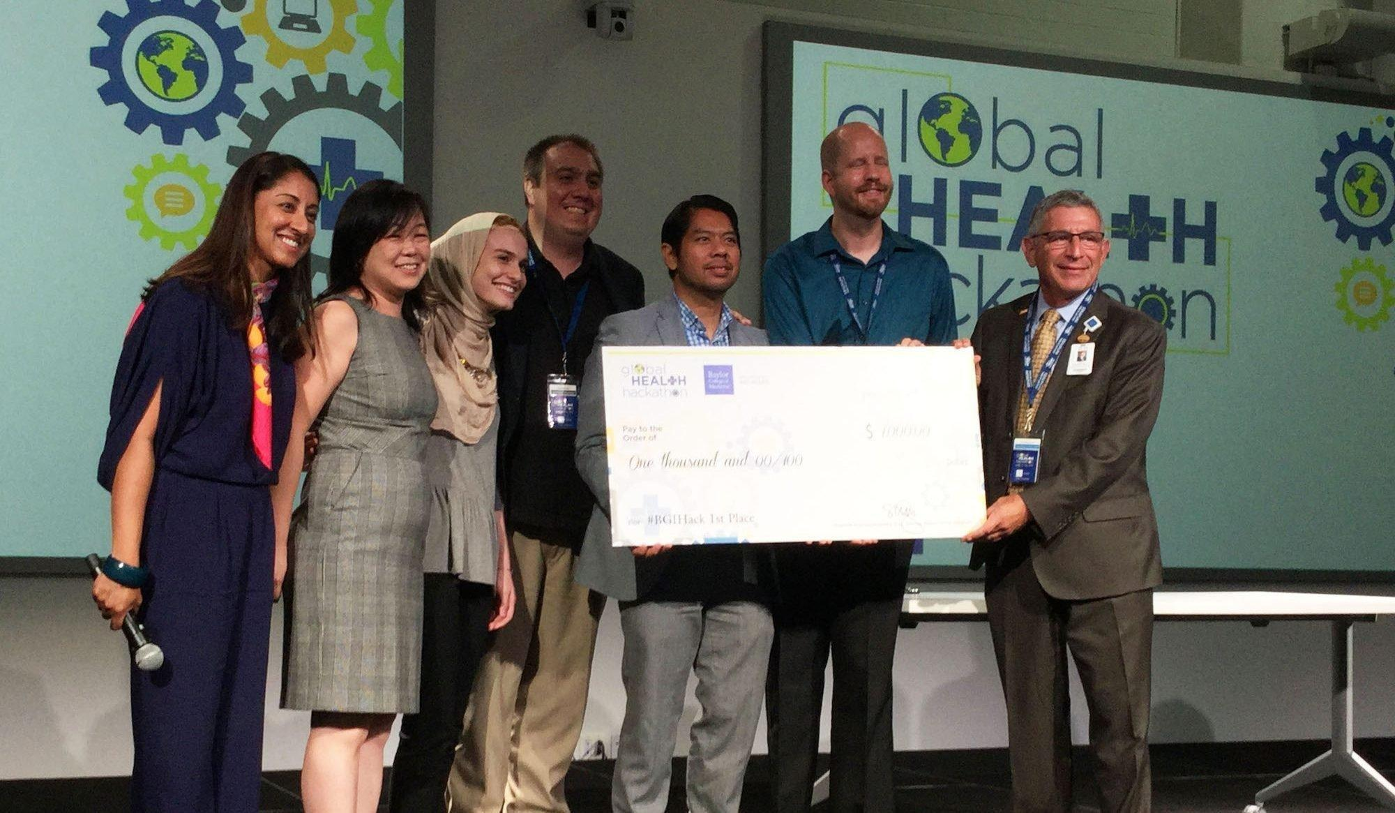 Oxygen Backpack Wins Top Prize At Global Health Hackathon