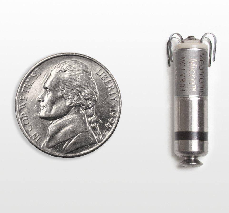 Medicare To Cover Implants Of Medtronic's Micra Pacemaker