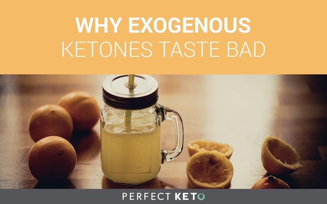 Why Exogenous Ketones Taste Bad