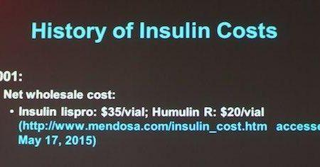 Why Insulin Costs So Much