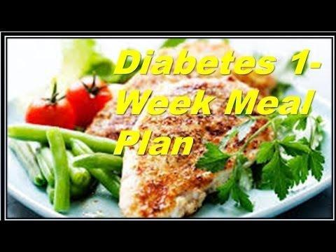 Diabetic Meal Plan For A Month